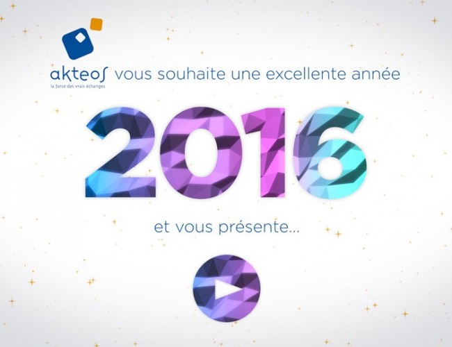Bonne année interculturelle d'Akteos