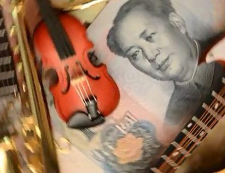 Le violon en Chine